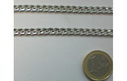 Cadena eslabón plano P.Vieja ancho de 4mm