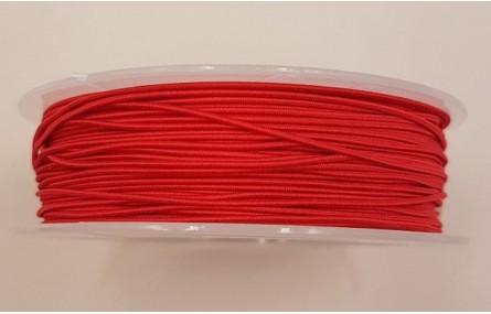 Cordón de Goma 1mm  Rojo Sangre