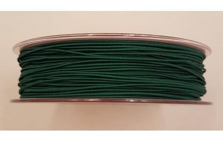Cordón de Goma 1mm verde inglés