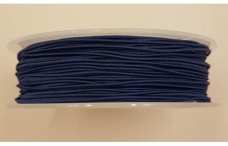Cordón de Goma 1mm Azul Marino