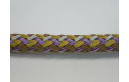 Cordón trenzado multicolor de 10mm Mezcla 1