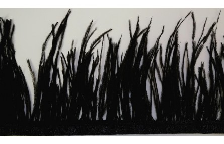 Fleco 100mm Teñido Negro