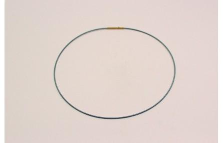 Collar acero espiral 1,4mm*42cms Gris Montana